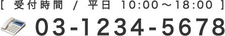 03-1234-5678